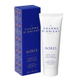 Masque visage - Miel, rassoul & l'huile d'Argan - 50 ml