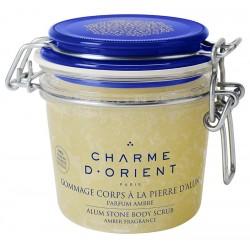 Gommage à la pierre d'alun, miel & gelée royale - 300 g