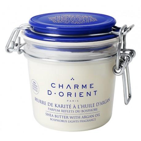 Beurre de karité à l'argan parfumé - Pot terrine 200 g