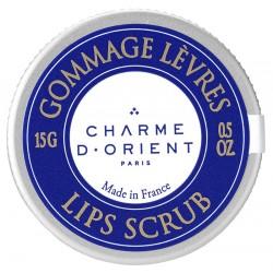 Gommage lèvres au karité & huile d'argan