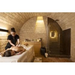 massaggio all'olio di Argan.